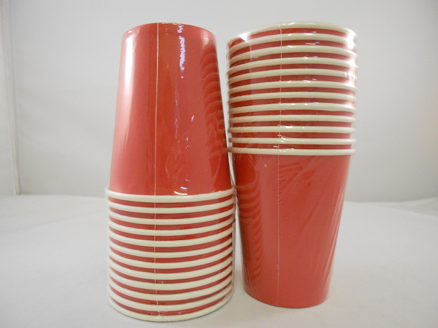 S5530: 12Pk 9oz Red Paper Cup