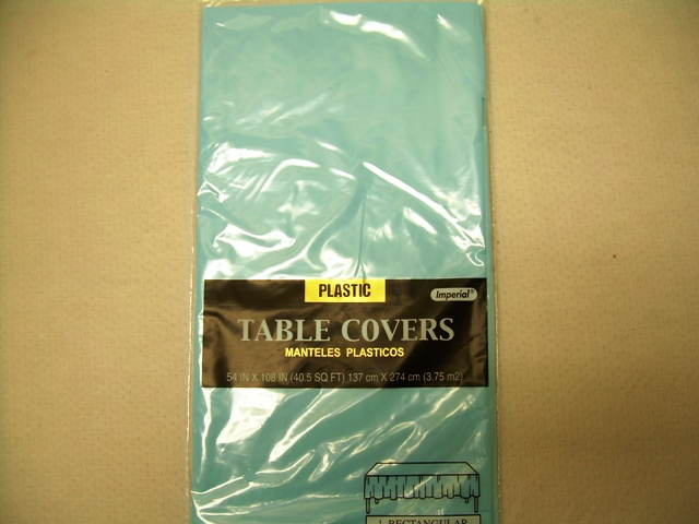 S2841: Extra Heavy Duty Table Cover-Baby Blue